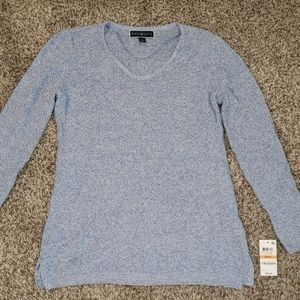 Karen Scott Knit Sweater NWT